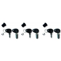 Ключалки за 3 броя куфари Kappa черни