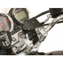 Стойка GPS за кормило ø22 SW-MOTECH Nonshock Bar Clamp черна