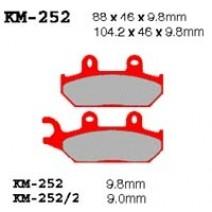 Накладки за скутери Vesrah KM-252