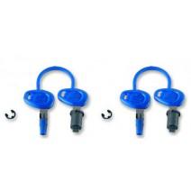 Ключалки за 2 броя куфари Kappa
