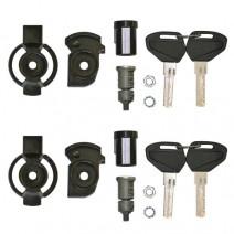 Секретни ключалки за 2 броя куфари Kappa