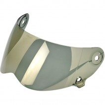 LANE SPLITTER SHIELD GOLD MIRRORED
