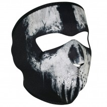 Маска ZANheadgear® FULL MASK Skull Ghost